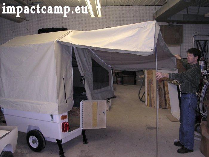 mini caravane pliante pour moto. Black Bedroom Furniture Sets. Home Design Ideas